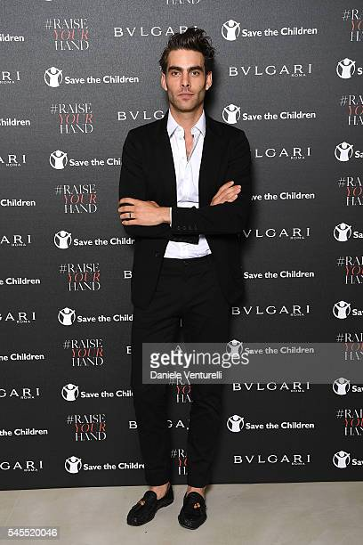 Attend the Bvlgari and Save The Children Unveiling of #RaiseYourHand Campaign at Maxxi Museum on July 8 2016 in Rome Italy