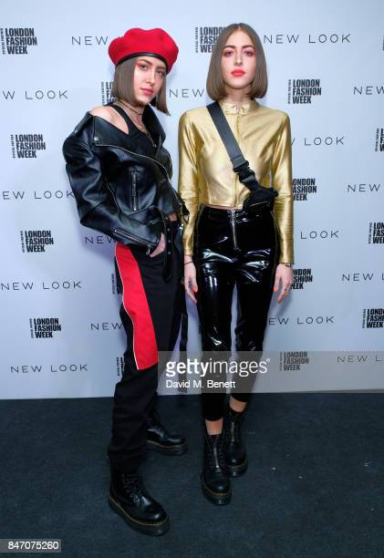 SIMIHAZE attend the exclusive New Look and British Fashion Council party launching London Fashion Week September 2017 at The Store Studios on...