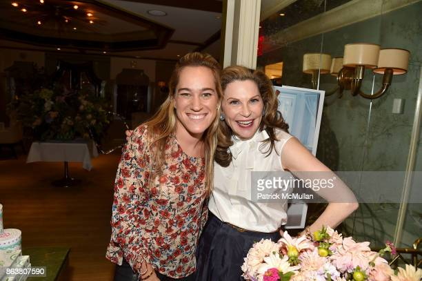 attend the launch of Second Bloom Cathy Graham's Art of the Table hosted by Joanna Coles and Clinton Smith at Bergdorf Goodman on October 19 2017 in...