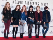 DALSHABET attend the Modir launching party at Club Syndrome on January 24 2014 in Seoul South Korea