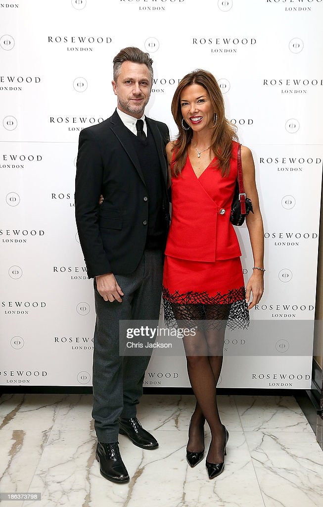 attend the opening of Rosewood London on October 30, 2013 in London, England.
