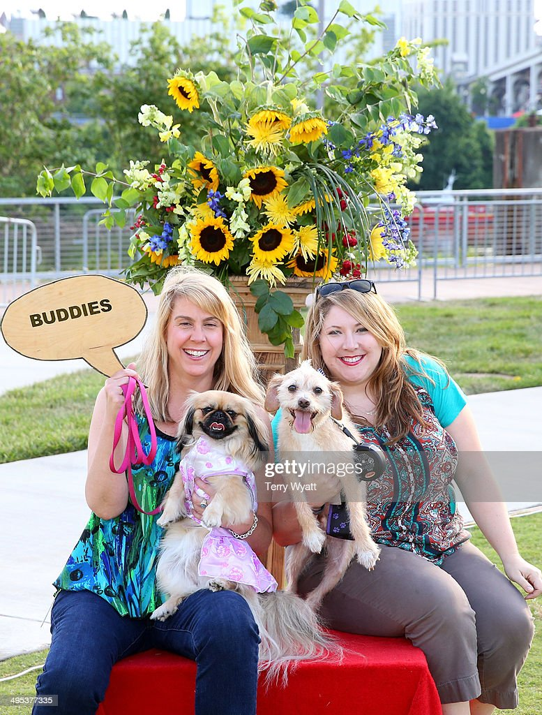 Attendees and their pets enjoy at the CMT One Country & Dentastix Smile! Party on June 2, 2014 in Nashville, Tennessee.