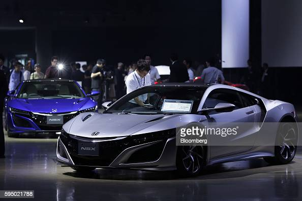 Honda nsx stock photos and pictures getty images for Honda motor company stock