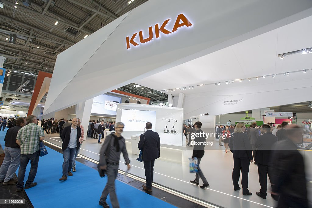 Exhibition Stand Industrial : Latest robotic technology on display at automatica trade