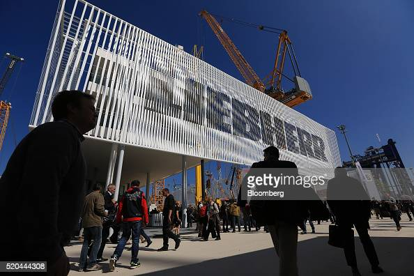 Exhibition Stand Builders In Munich : Liebherr stock photos and pictures getty images