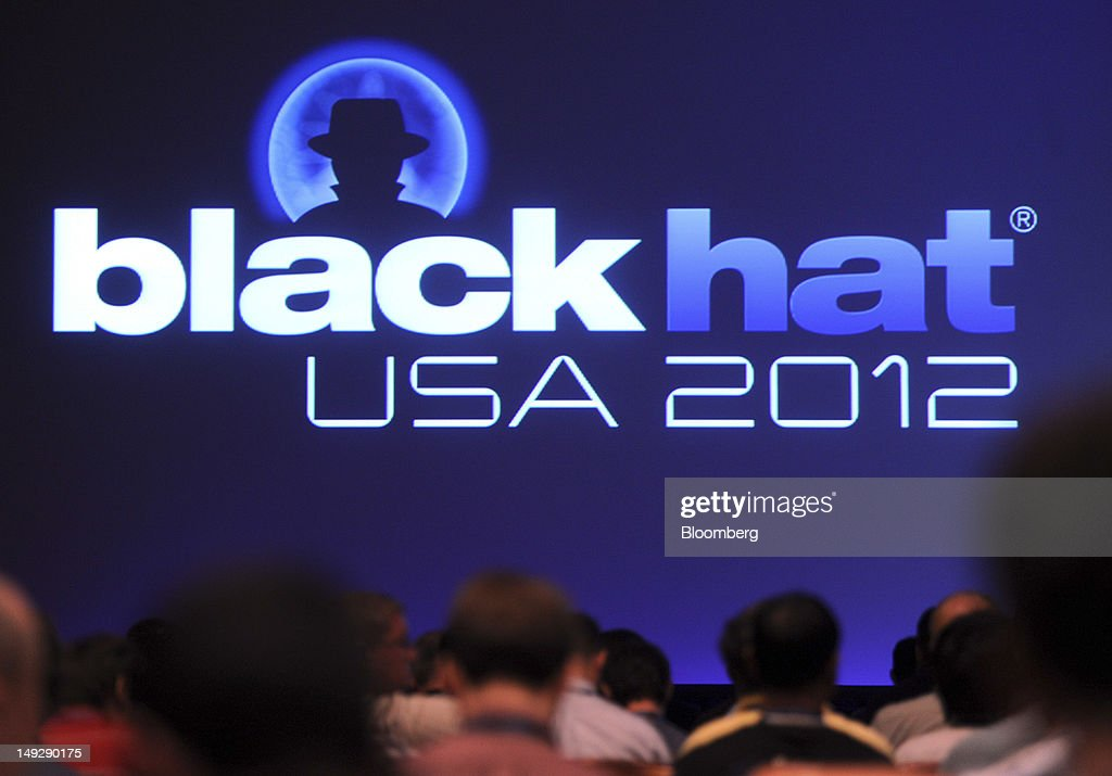 Attendees wait for the start of a session during the Black Hat USA 2012 conference at Caesar's Palace resort and casino in Las Vegas, Nevada, U.S., on Wednesday, July 25, 2012. The conference brings together leaders from all facets of the information security world, from corporate and government sectors to academic and even underground researchers. Photographer: Jacob Kepler/Bloomberg via Getty Images