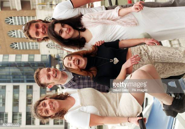 Attending a photo call in Chelsea Harbour today were members of the cast of a new TV series 'Island' produced by ITV's smallest company Channel...