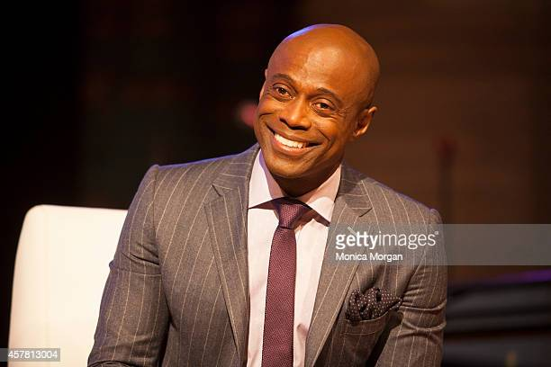 KEM attends An Evening With KEM at the Charles H Wright Museum of African American History on October 24 2014 in Detroit Michigan