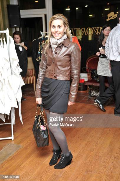 attends BELLE PLAGE CLOTHING Holiday Party Spring 2011 Preview at Worth Worth on November 30 2010 in New York City