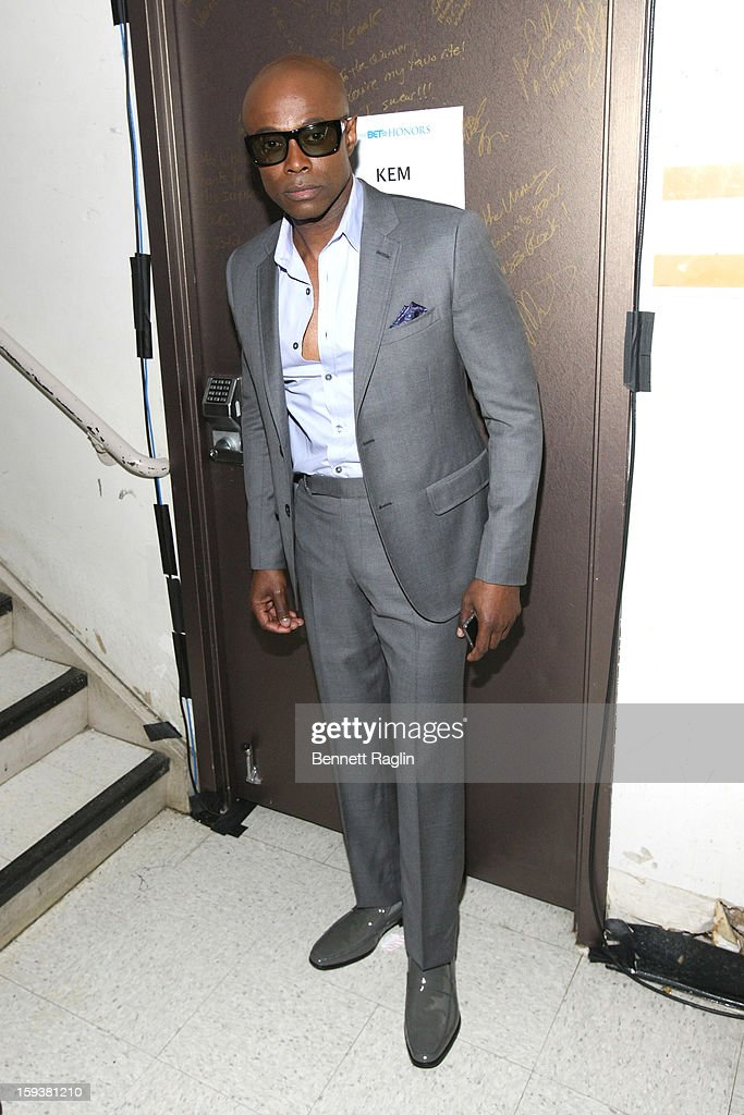 KEM attends BET Honors 2013 Backstage at Warner Theatre on January 12 2013 in Washington DC