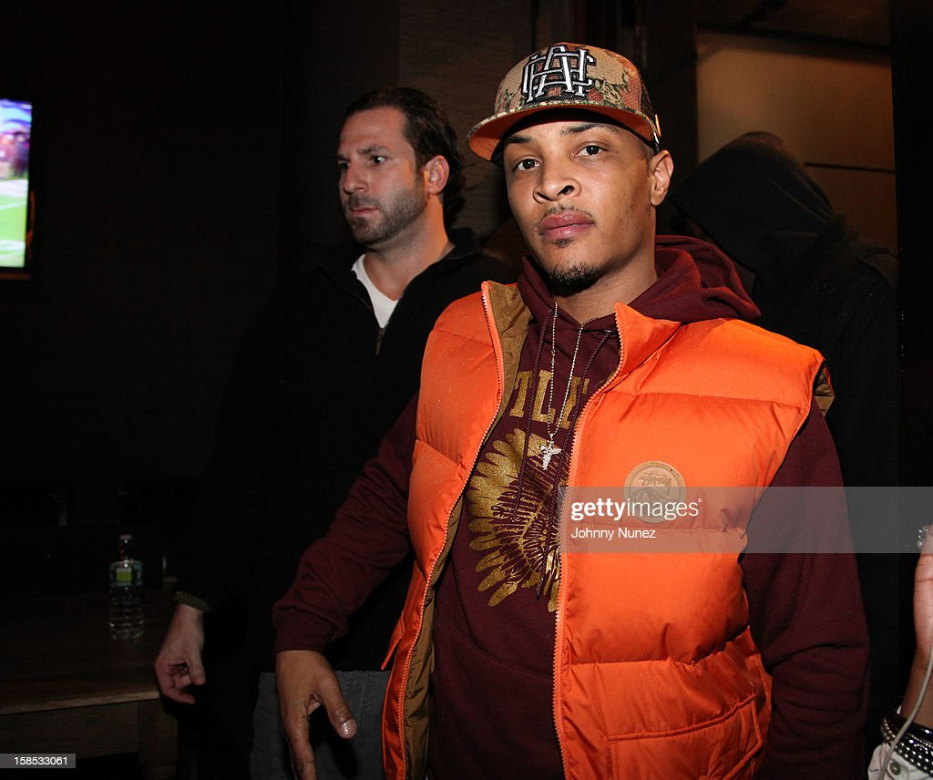 T.I. attends 'Cans For Cocktails' on December 17, 2012 in New York City.