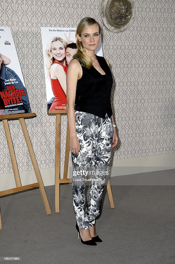 attends 'Der Naechste, Bitte!' Germany photocall at the Hotel de Rome on January 31, 2013 in Berlin, Germany.