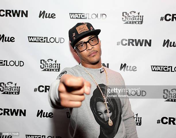 I attends Elliott Wilson Hosts CRWN With TI For WatchLOUDcom Presented By Footaction at Gramercy Theatre on October 28 2014 in New York City