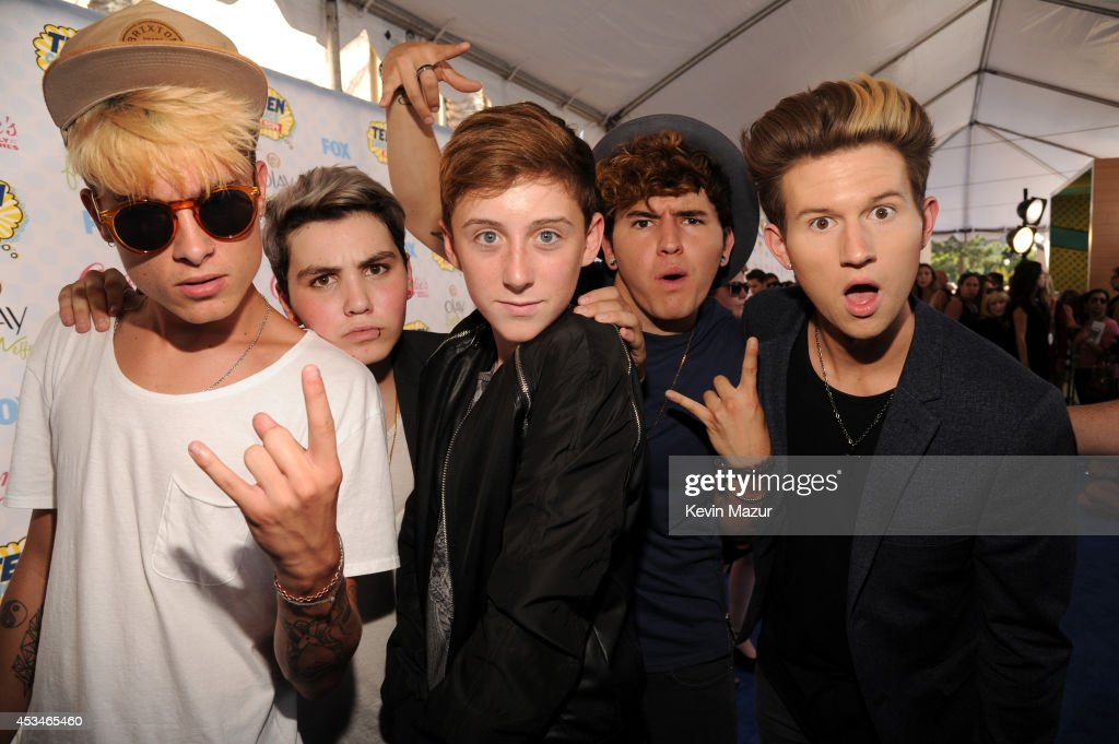 O2L (Our2ndLife) attends FOX's 2014 Teen Choice Awards at The Shrine Auditorium on August 10, 2014 in Los Angeles, California.