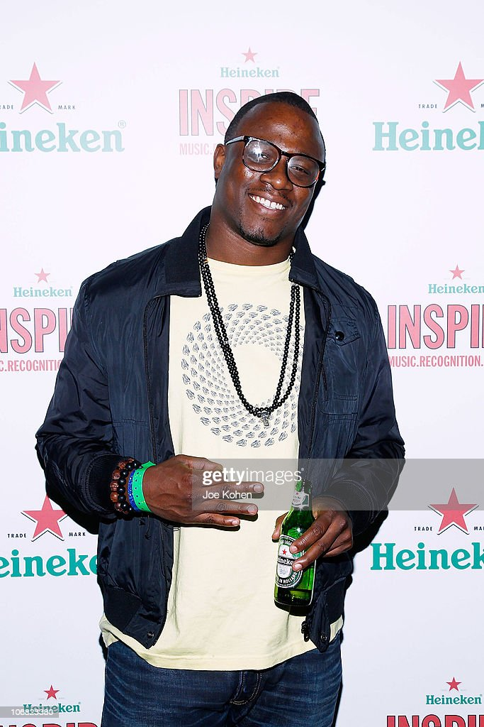 DJ MOS attends Heineken Inspire Encore Event featuring Nas, Cee Lo Green, Diplo, Pete Rock, J. Cole and Roxy Cottontail at Basketball City - Pier 36 - South Street on November 13, 2010 in New York City.