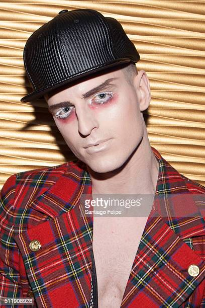 MILK attends Logo's 'RuPaul's Drag Race' Season 8 Premiere at Stage 48 on February 22 2016 in New York City