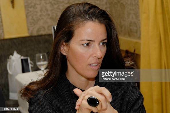 attends MARIA HATZISTEFANIS presents GLAMOTOX at a glamorous upper east side luncheon at The Carlyle on December 3 2007 in New York City