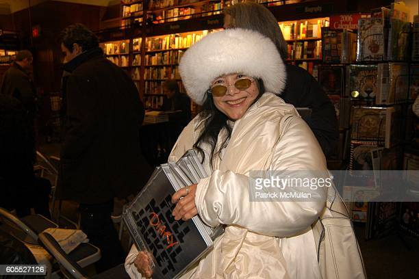 attends Matthew Modine Book Signing for FULL METAL JACKET DIARY at Barnes Noble Book Store on January 4 2006 in New York City