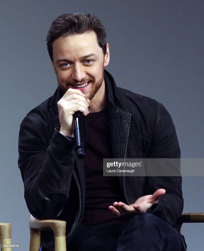 James McAvoy, Anya Taylor-Joy and Betty Buckley to discuss 'Split' at Apple Store Soho on January 19, 2017 in New York City.