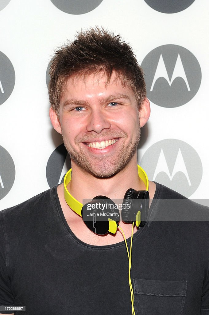 M4SONIC attends Moto X Launch Event on August 1, 2013 in New York City.