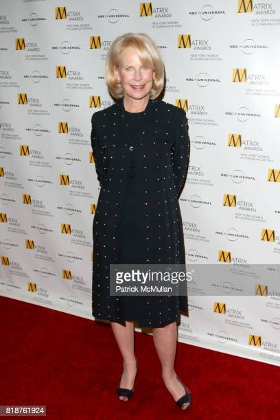 attends New York WOMEN IN COMMUNICATIONS Presents The 2010 MATRIX AWARDS at Waldorf Astoria on April 19 2010 in New York City