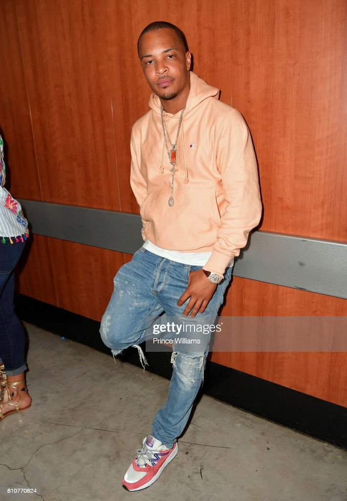T.I. attends Night two of the BET Experience Concert Series at LA Live on June 23, 2017 in Los Angeles, California.