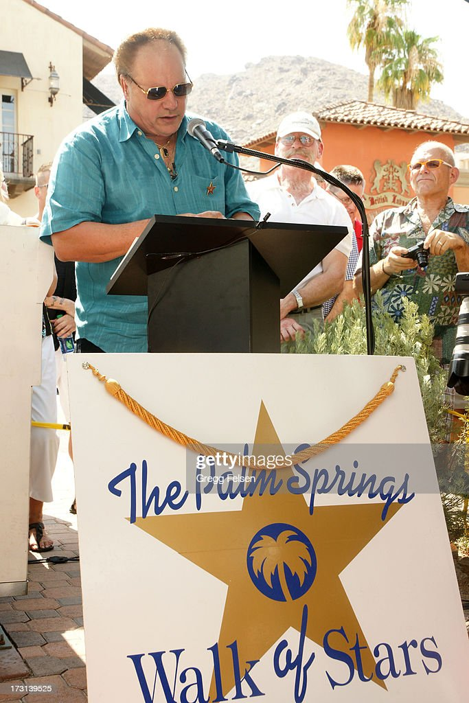 KC attends Palm Springs 'Walk of Stars' ceremony for KC And The Sunshine Band on July 6, 2013 in Palm Springs, California.