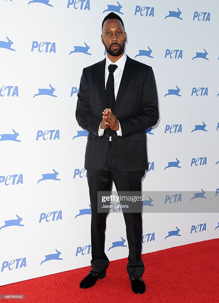 RZA attends PETA's 35th anniversary party at Hollywood Palladium on September 30 2015 in Los Angeles California