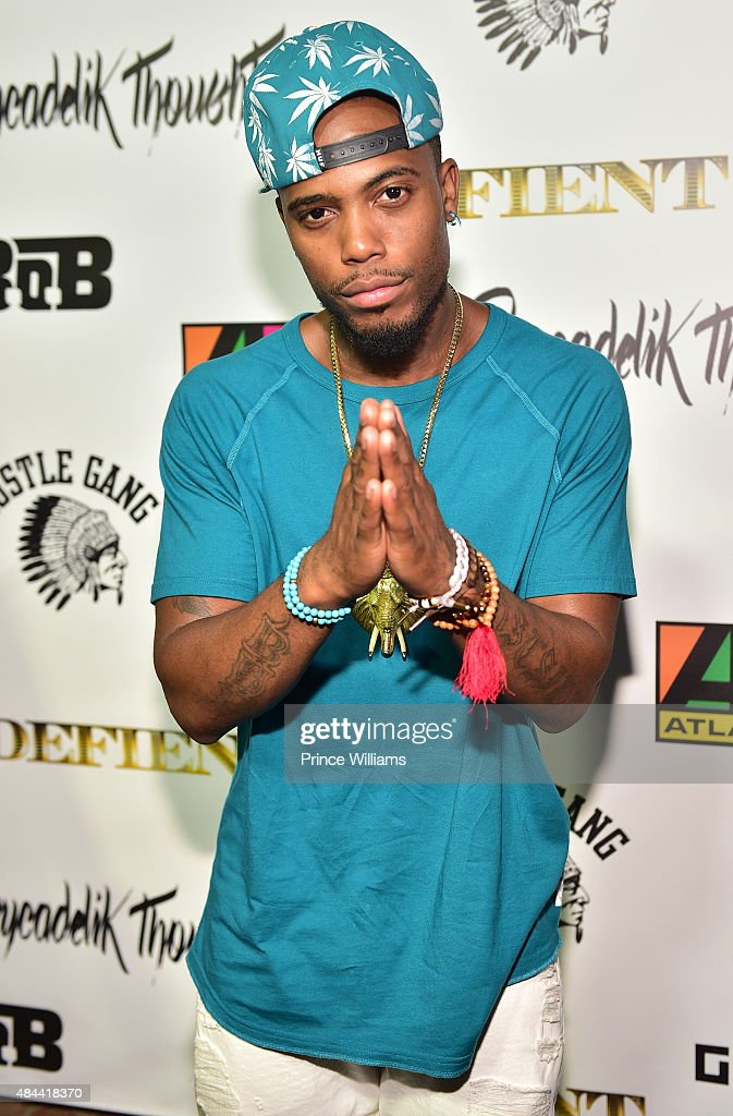 B attends Psyeadelik ThoughtzThe Listening Party at the Omen agency on August 14 2015 in Atlanta Georgia