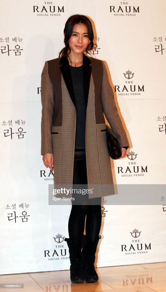 KAHI attends So Yu-Jin's wedding at the Raum on January 19, 2013 in Seoul, South Korea.
