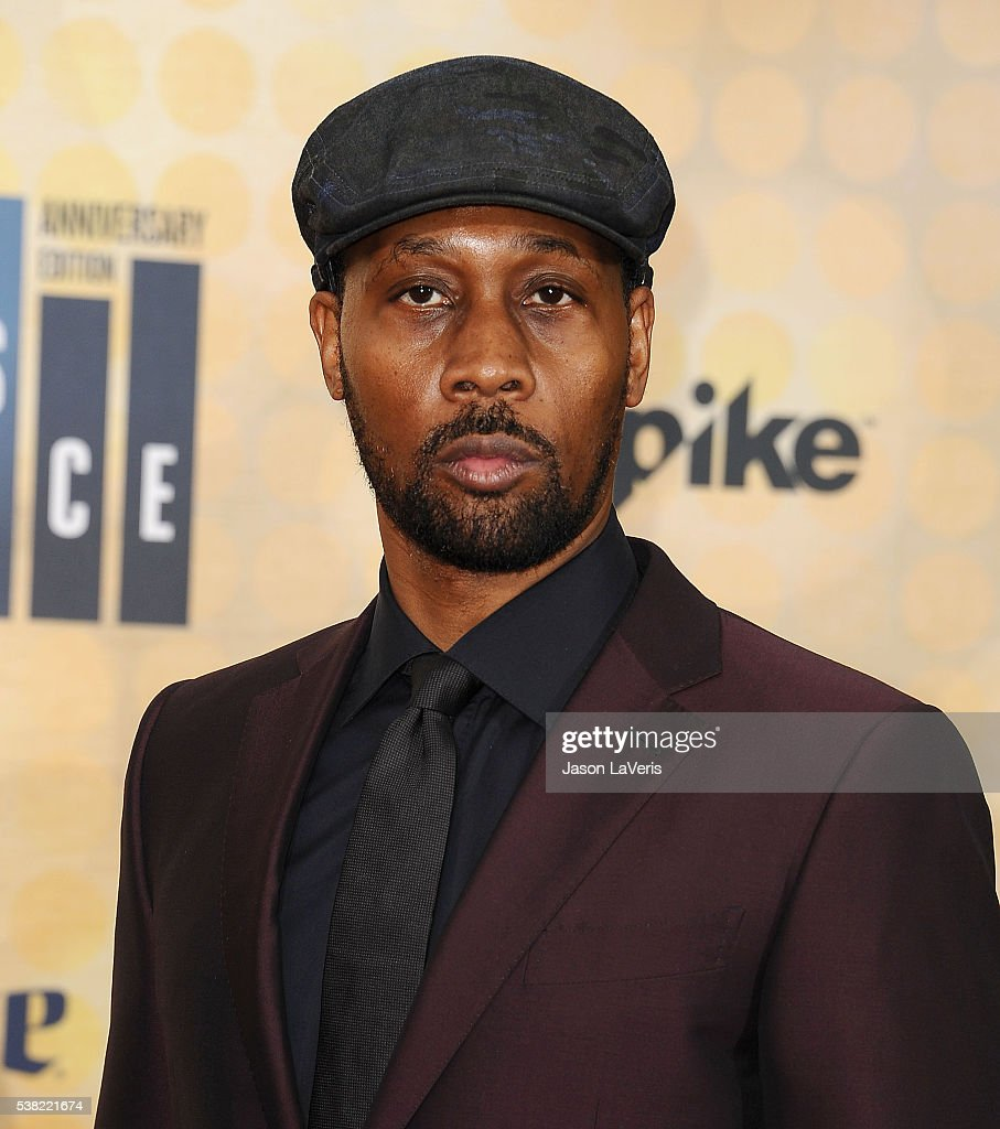 RZA attends Spike TV's Guys Choice 2016 at Sony Pictures Studios on June 4 2016 in Culver City California