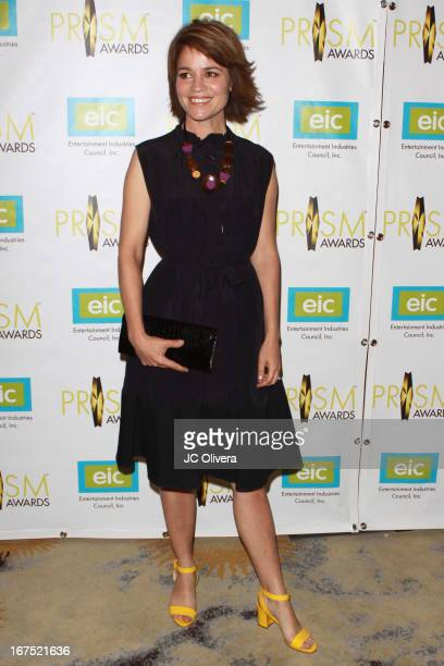 attends the 17th Annual Prism Awards at Beverly Hills Hotel on April 25 2013 in Beverly Hills California