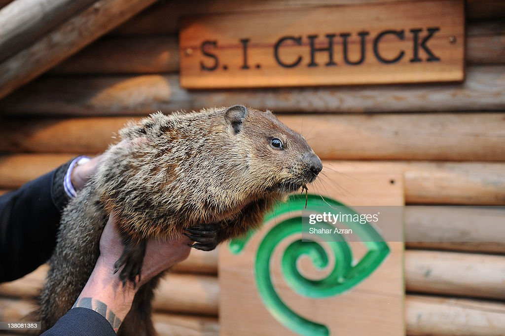 CHUCK attends the 2012 Groundhog's Day celebration at the Staten Island Zoo on February 2 2012 in Staten Island borough of New York City