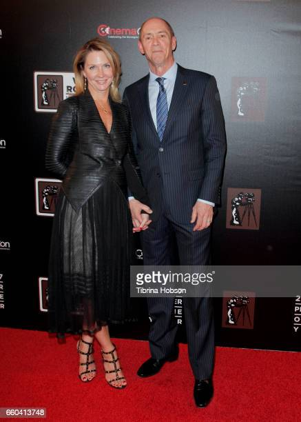 attends the 2017 Will Rogers Pioneer of the Year dinner honoring Cheryl Boone Isaacs during CinemaCon at Caesars Palace on March 29 2017 in Las Vegas...