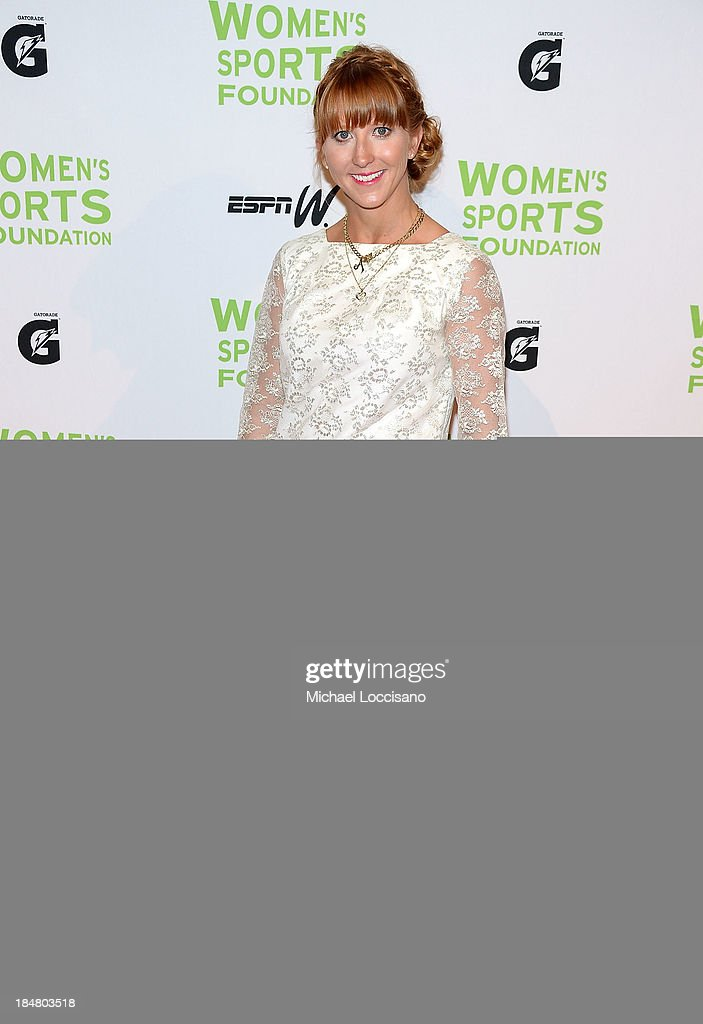 attends the 34th annual Salute to Women In Sports Awards at Cipriani, Wall Street on October 16, 2013 in New York City.