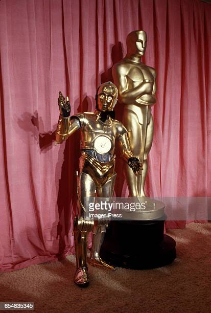 C3PO attends the 50th Academy Awards circa 1978 in Los Angeles California