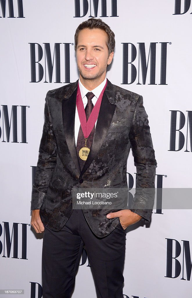 attends the 61st annual BMI Country awards on November 5, 2013 in Nashville, Tennessee.