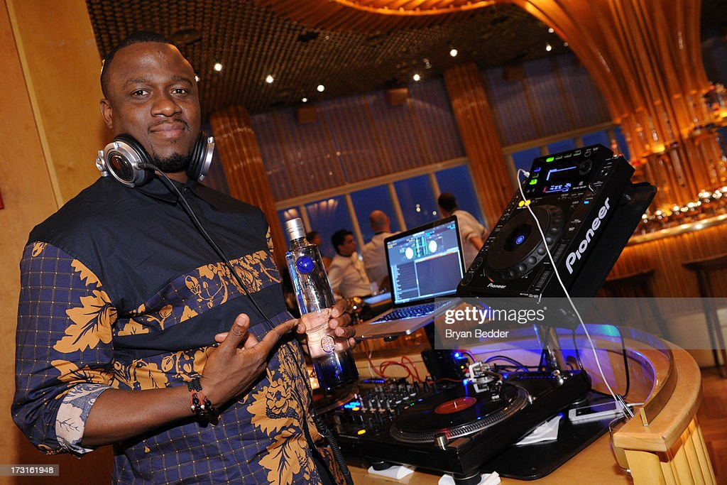 DJ MOS attends the after party at the New York premiere of FRUITVALE STATION, hosted by The Weinstein Company, BET Films and CIROC Vodka on July 8, 2013 in New York City.