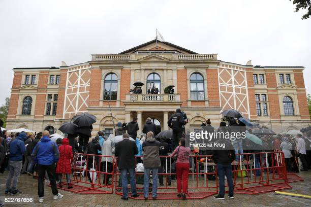 attends the Bayreuth Festival 2017 Opening on July 25 2017 in Bayreuth Germany