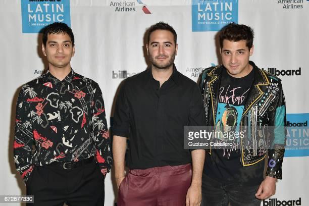 REIK attends the Billboard Latin Conference 2017 at Ritz Carlton South Beach on April 25 2017 in Miami Beach Florida