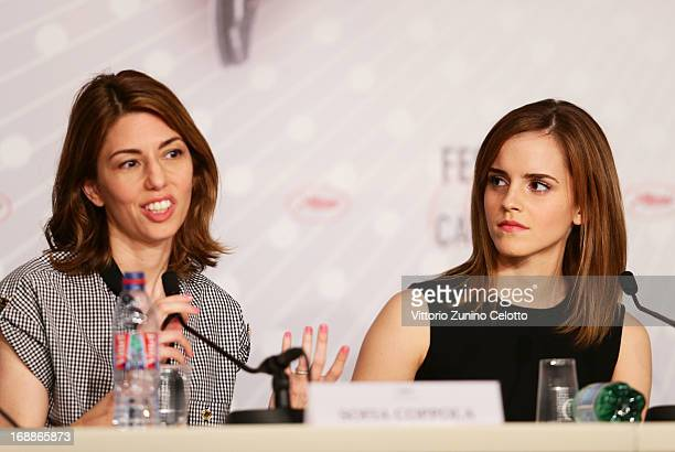 attends 'The Bling Ring' press conference during the 66th Annual Cannes Film Festival at Palais des Festival on May 16 2013 in Cannes France