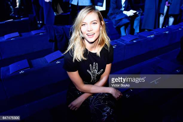 <<XXX attends the Christian Dior show as part of the Paris Fashion Week Womenswear Fall/Winter 2017/2018 >> on March 3 2017 in Paris France