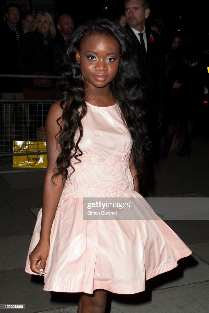 A*M*E attends the Cosmopolitan Ultimate Woman of the Year awards at Victoria & Albert Museum on October 30, 2012 in London, England.