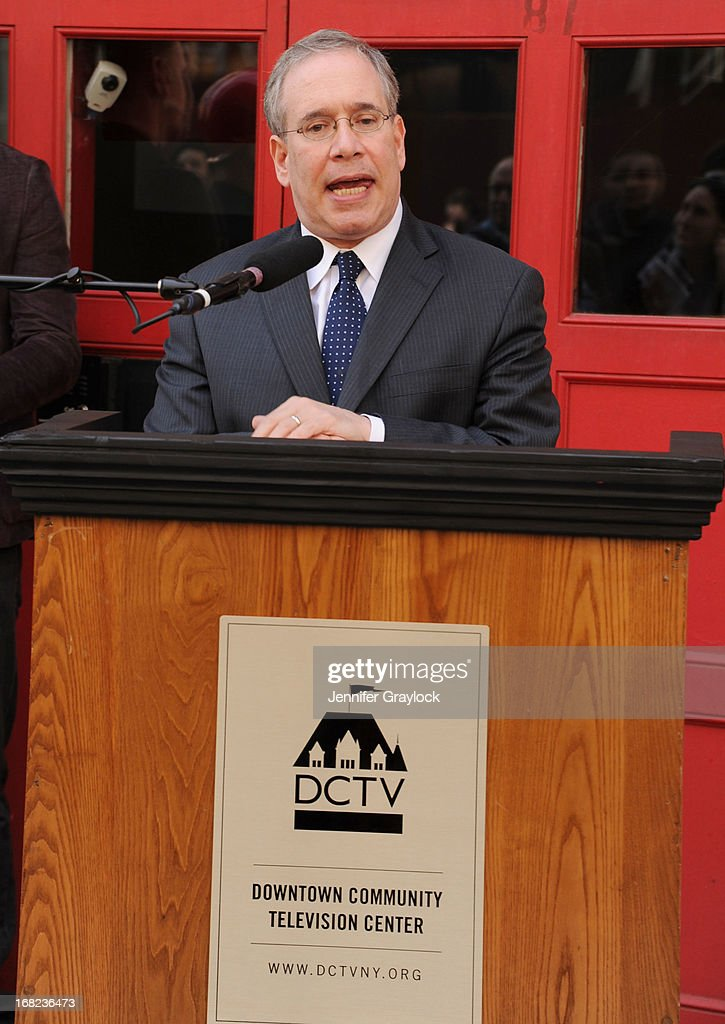 attends The DCTV Cinema Groundbreaking Ceremony at DCTV on May 7, 2013 in New York City.