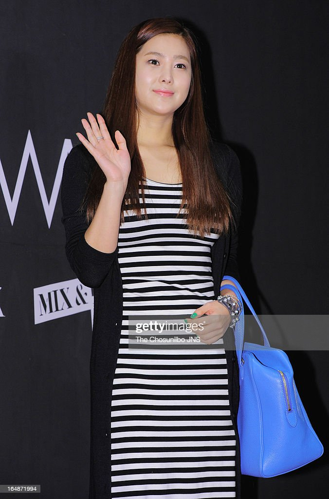 SOLBI attends the 'drww.' launch & beauty talk concert at Conrad Hotel on March 28, 2013 in Seoul, South Korea.