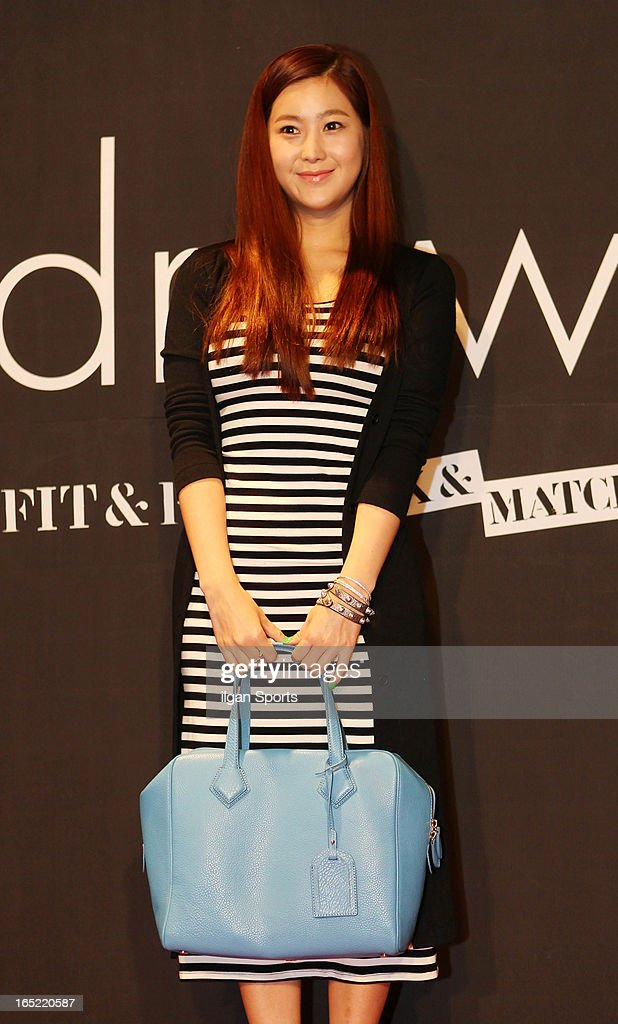 SOLBI attends the 'drww.' launch & beauty talk concret at Conrad Hotel on March 28, 2013 in Seoul, South Korea.