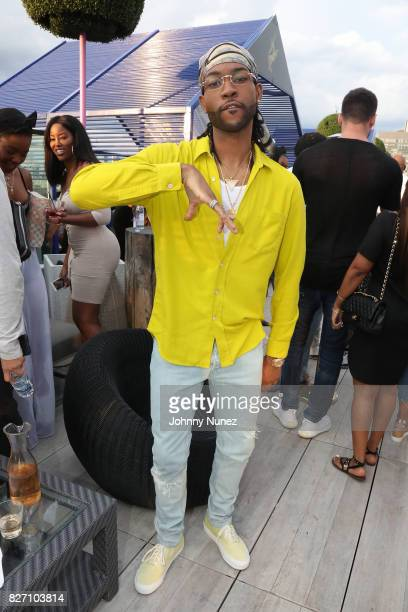 PARTYNEXTDOOR attends the French Montana 'Unforgettable Party' In Toronto For Caribana 2017 on August 6 2017 in Toronto Canada