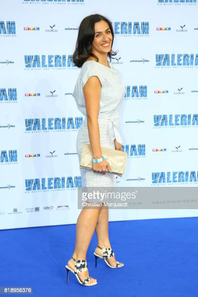 attends the German premiere of the 'Valerian Die Stadt der Tausend Planeten' at CineStar on July 19 2017 in Berlin Germany