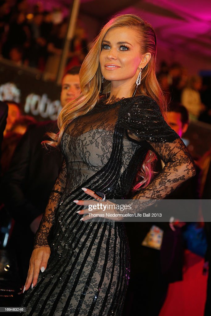attends the 'Life Ball 2013 - Magenta Carpet Arrivals' at City Hall on May 25, 2013 in Vienna, Austria.