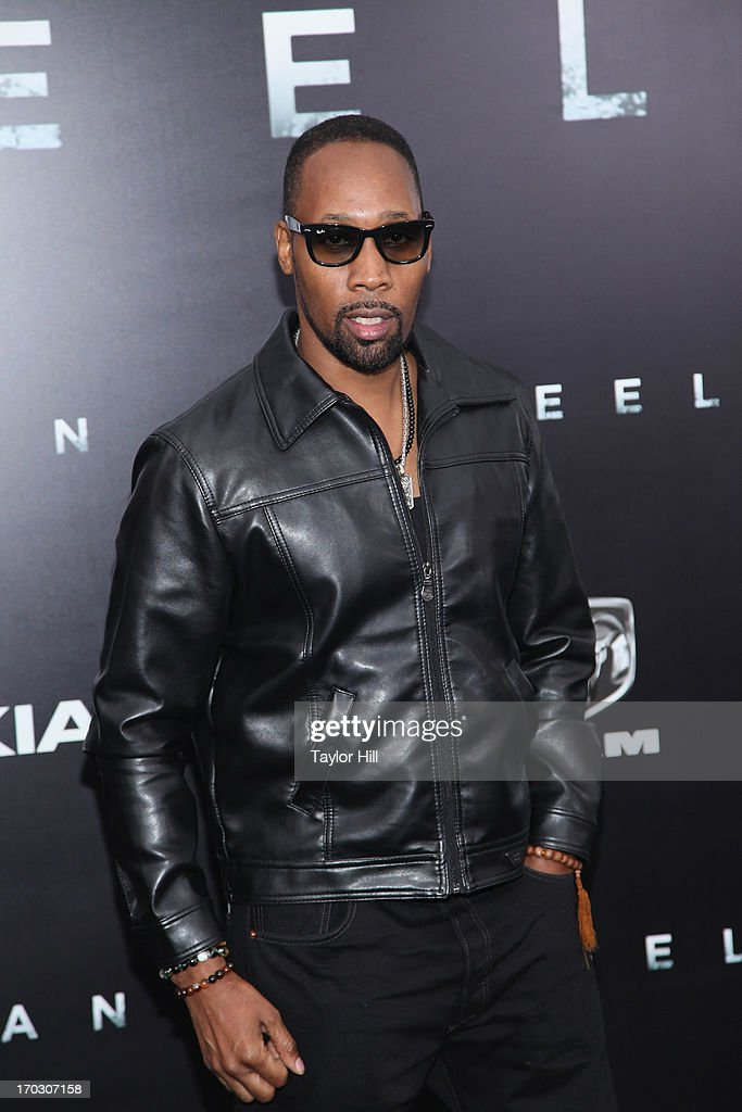 RZA attends the 'Man Of Steel' World Premiere at Alice Tully Hall at Lincoln Center on June 10, 2013 in New York City.